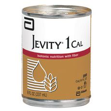 Abbott Jevity 1 Cal Isotonic Liquid Nutrition w/Fiber 1 Liter 32-Pack