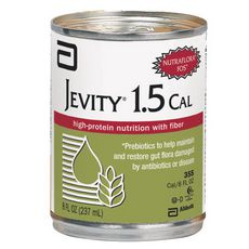 Abbott Jevity 1.5 Cal High Protein w/Fiber Institutional 1000ml 8-Pack