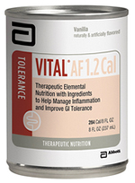 Abbott Vital AF 1.2 Cal Therapeutic Elemental Nutrition 1000ml Each