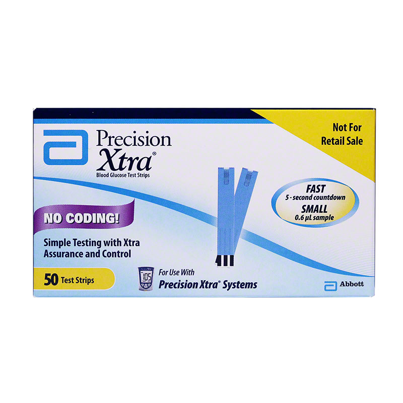 Precision Xtra Ketone Test Strips Box of 10