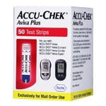 Accu-Chek Aviva Plus Diabetic Test Strips Box of 50 thumbnail