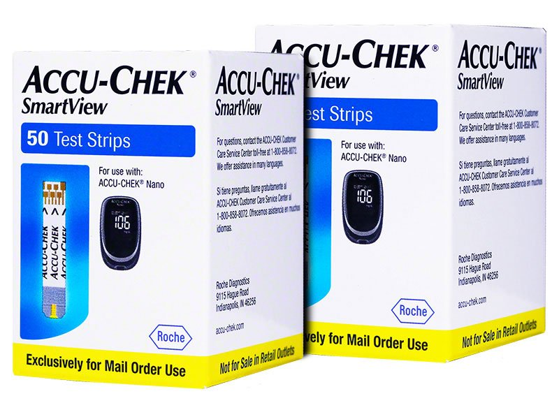 Accu-Chek SmartView Test Strips 100/bx