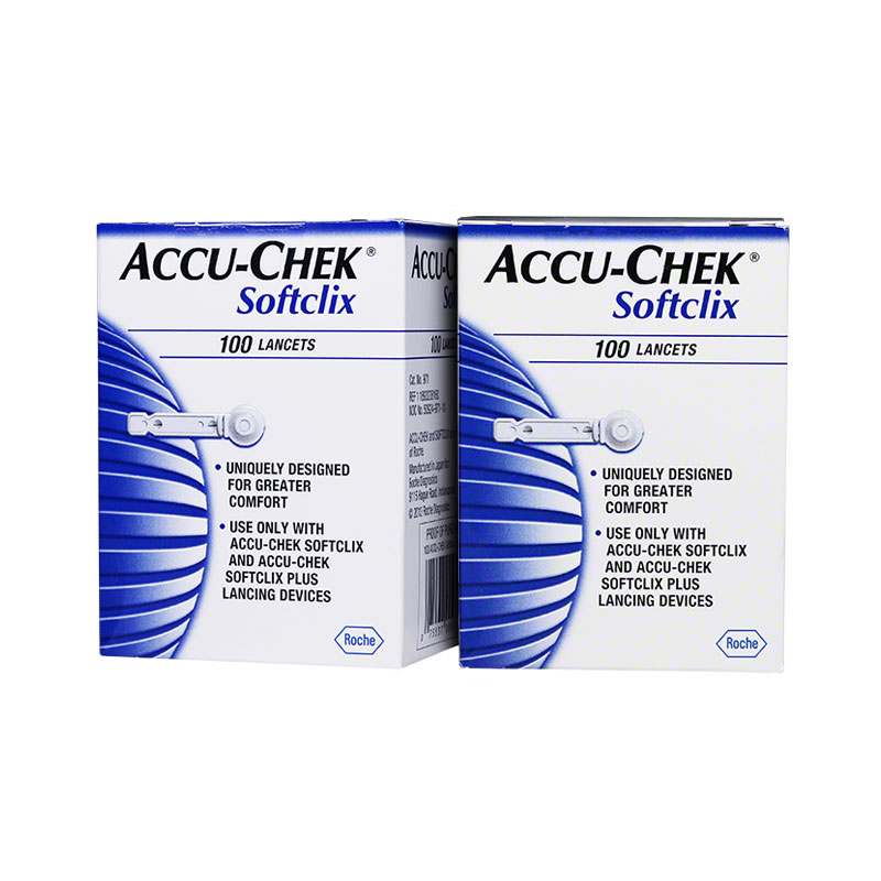 Accu-Chek SoftClix Glucose Lancets box of 200