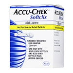 Accu-Chek SoftClix Glucose Lancets Box of 100