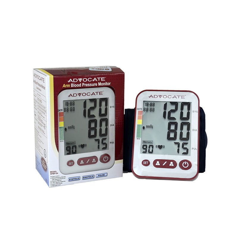 Advocate Automatic Upper Arm Blood Pressure Monitor with SM/Med Cuff