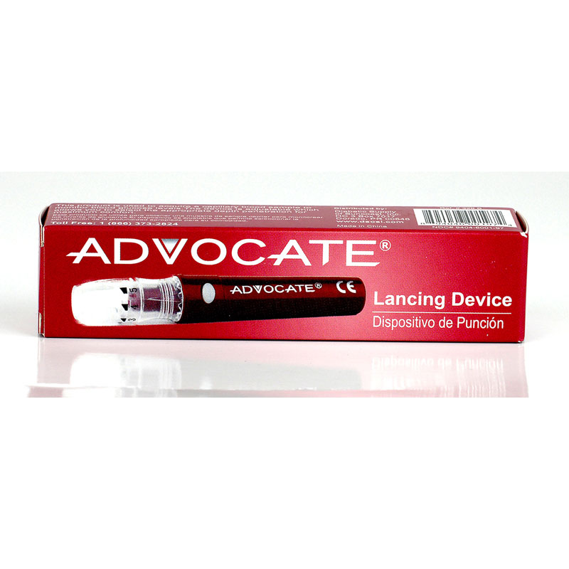 Advocate Rapid-Safe Lancing Device