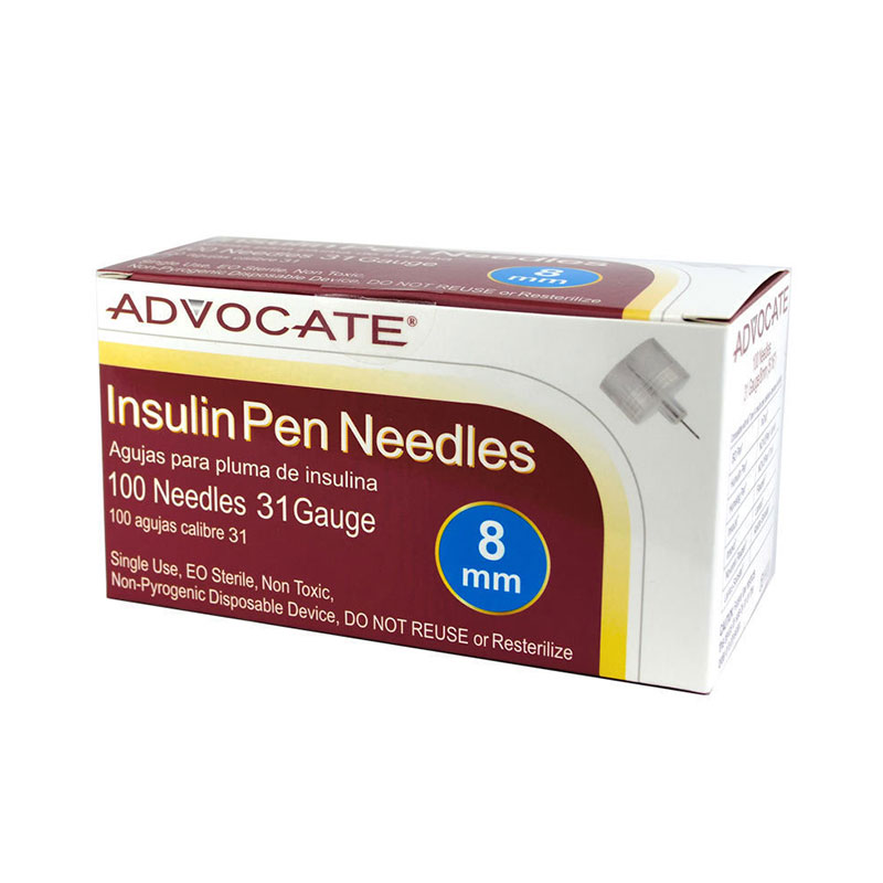 Advocate Pen Needles 31G 8mm (5/16