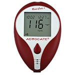 Advocate Redi-Code Plus Blood Glucose Meter Kit 4-Pack