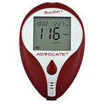 Advocate Redi-Code Plus Blood Glucose Meter Kit - Pack of 4