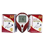 Advocate Redi-Code Plus Glucose Meter with 150 Test Strips