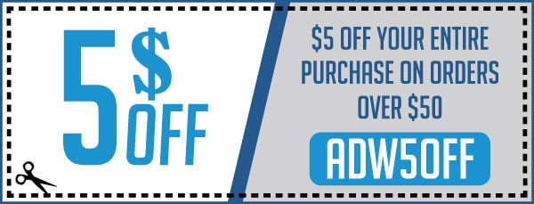 Take $5 OFF All Orders Of $50.00 Or More - ADW5OFF