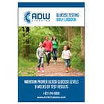 ADW Daily Diabetic Log Book - Self Testing Journal (Large)