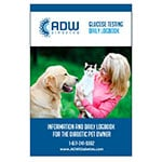 ADW Information And Daily Log Book For Diabetic Pets