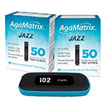 AgaMatrix Jazz Wireless 2 Kit & 100 Test Strips