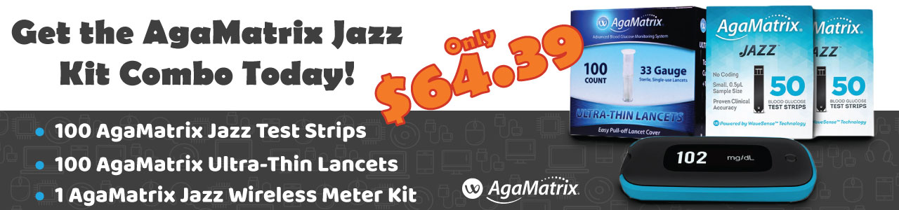Agamatrix Jazz Diabetes Combo Deal