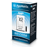 AgaMatrix Amp No-Code Blood Glucose Meter Kit