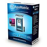 AgaMatrix Presto Blood Glucose Meter Kit - Pack of 4