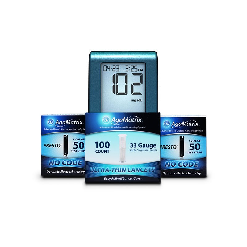 Gestational Diabetes Value Pack 2 - 400 strips 300 lancets FREE Meter