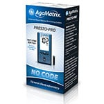 AgaMatrix Presto Pro Blood Glucose Meter Kit thumbnail