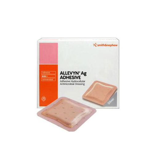 ALLEVYN Ag Adhesive Silver Wound Dressing, 8