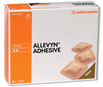 Smith & Nephew Allevyn Adhesive Dressing 66020043 6-Pack