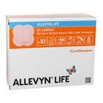"Smith and Nephew Allevyn Foam Dressing 4""x 4"" 10/bx 66801067 thumbnail"
