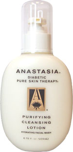Anastasia Purifying Cleansing Lotion - Diabetic Pure Skin Therapy - 6.75 oz