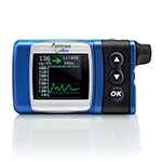 Animas Vibe Insulin Pump & CGM For Intermediate Pediatrics - Blue