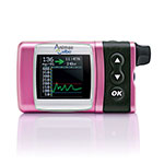 Animas Vibe Insulin Pump & CGM For Intermediate Pediatrics - Pink
