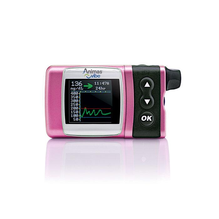 Animas Vibe Insulin Pump & CGM For Intermediate Pediatrics - Pink