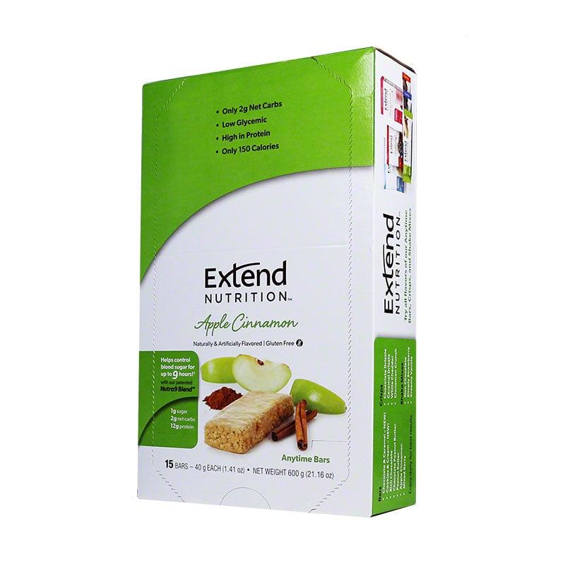 ExtendBar Apple Cinnamon Delight- Case of 15