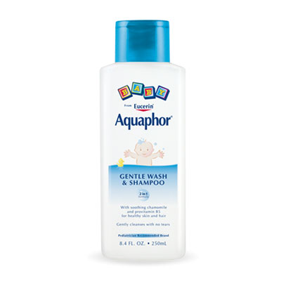 Aquaphor Baby Gentle Wash & Shampoo 8.4oz - Pack of 12