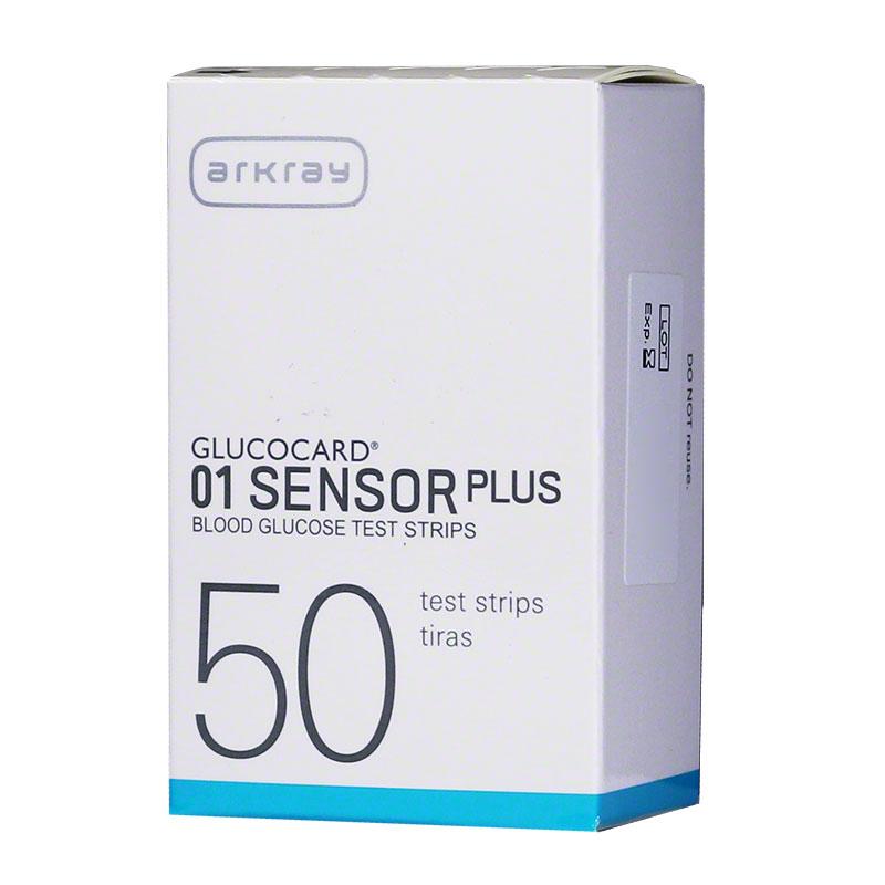 Arkray GlucoCard 01 Sensor Blood Glucose Test Strips 50/bx