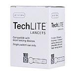 Arkray TechLite 25 Gauge Sterile Lancets - 100/bx