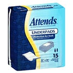 "Attends Dri-Sorb Moderate Absorbent Underpads 23""x36"" 15/bag thumbnail"