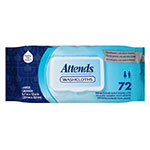 Attends Washcloths Convenience Pak 8 x 12.5 Inch Bag of 72