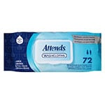 Attends Washcloths Convenience Pak 8 x 12.5 Inch Bag of 72 thumbnail