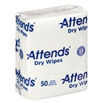 Attends Quickable Dry Wipes 10 x 13 Inch 50 Count thumbnail
