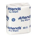 "Attends Quickable Dry Wipes 10""x13"" 1000/bx thumbnail"