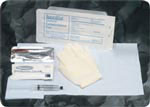 Bard Medical Foley Insertion w/PVI Swabs & 10cc Syringe Each