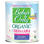 Baby's Only Organic Dairy With DHA & ARA Toddler - 12.7oz Pack of 6