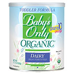 Baby's Only Organic Dairy Toddler Formula - 12.7oz Powder Pack of 6