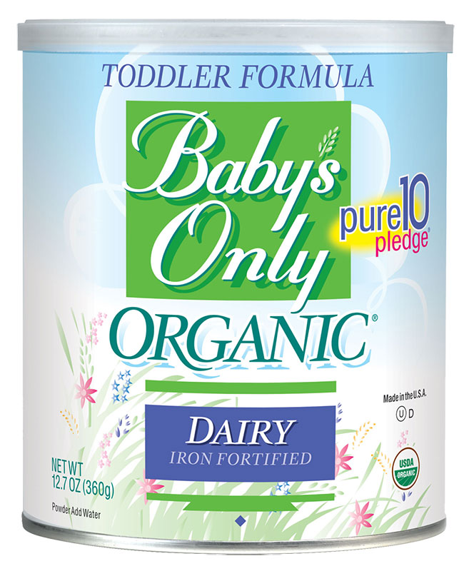 Baby's Only Organic Dairy Toddler Formula - 12.7oz Powder