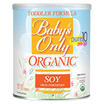 Baby's Only Organic Soy Toddler Formula - 12.7oz Powder thumbnail