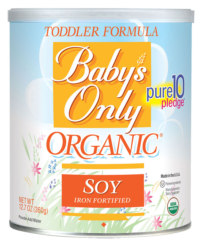 Baby's Only Organic Soy Toddler Formula - 12.7oz Powder