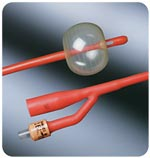 Bard Medical Red Lubricath Catheter 5cc 22 FR Each