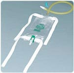 Bard Medical Leg Bag w/Flip-Flo Valve & 18