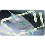Bard Medical Bile Bag with T-Tube Adapter & 2 Belts Each