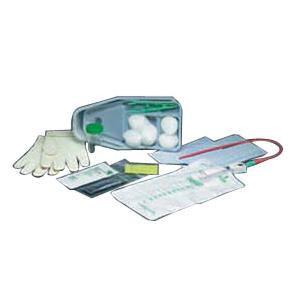 Bard Medical Urethral Catheter Tray w/Gloves & Bag 14 FR Each