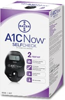 A1cNow SELFCHECK At-Home A1C System - 2 Test Kit from Bayer